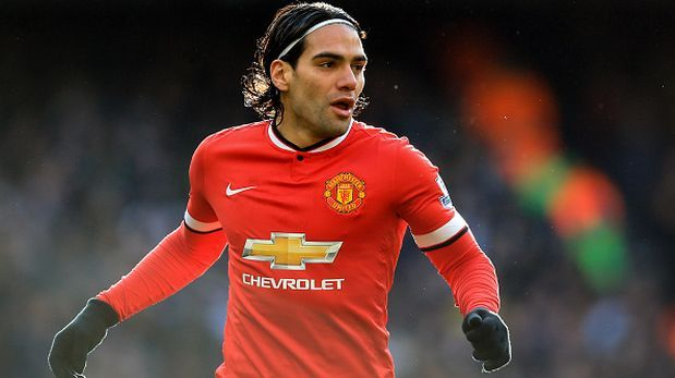 Falcao pictured