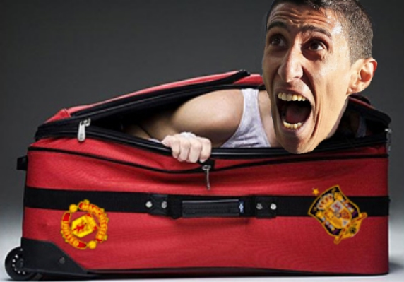 Di Maria is said to have been inconsolable after being discovered.