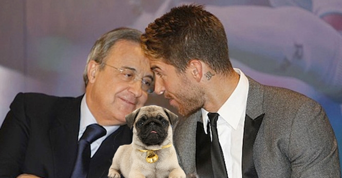 Perez, Ramos and the newest addition to their family.