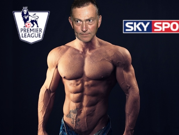 Premier League chief executive today unveiled his stunning new physique ahead of the Premier League season.