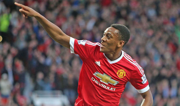 Martial stated that for himself to develop, he needs to be playing actual competitive teams. (Photo: Sky Sports)